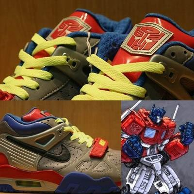 "Chapter 5: Marketplace & Consumer Trends The Global Footwear Market Nike Air Trainer ""Transformers"" inspired by the Autobots' leader, Optimus Prime, there is even more spectacular innovation based in"