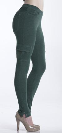 Spruce Jegging Style: LLGAJ Five-pocket styling gives the Spruce Jegging a classic look, while faux front pockets leave you with a smoother fitting silhouette.