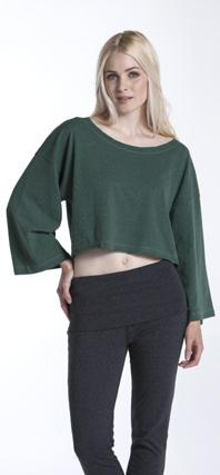 00 Merlot/ Cantaloupe / Bonsai Top Style: LTPBD Comfortably oversized and cropped at the bottom, the Bonsai Top is the perfect workout or hangout top.