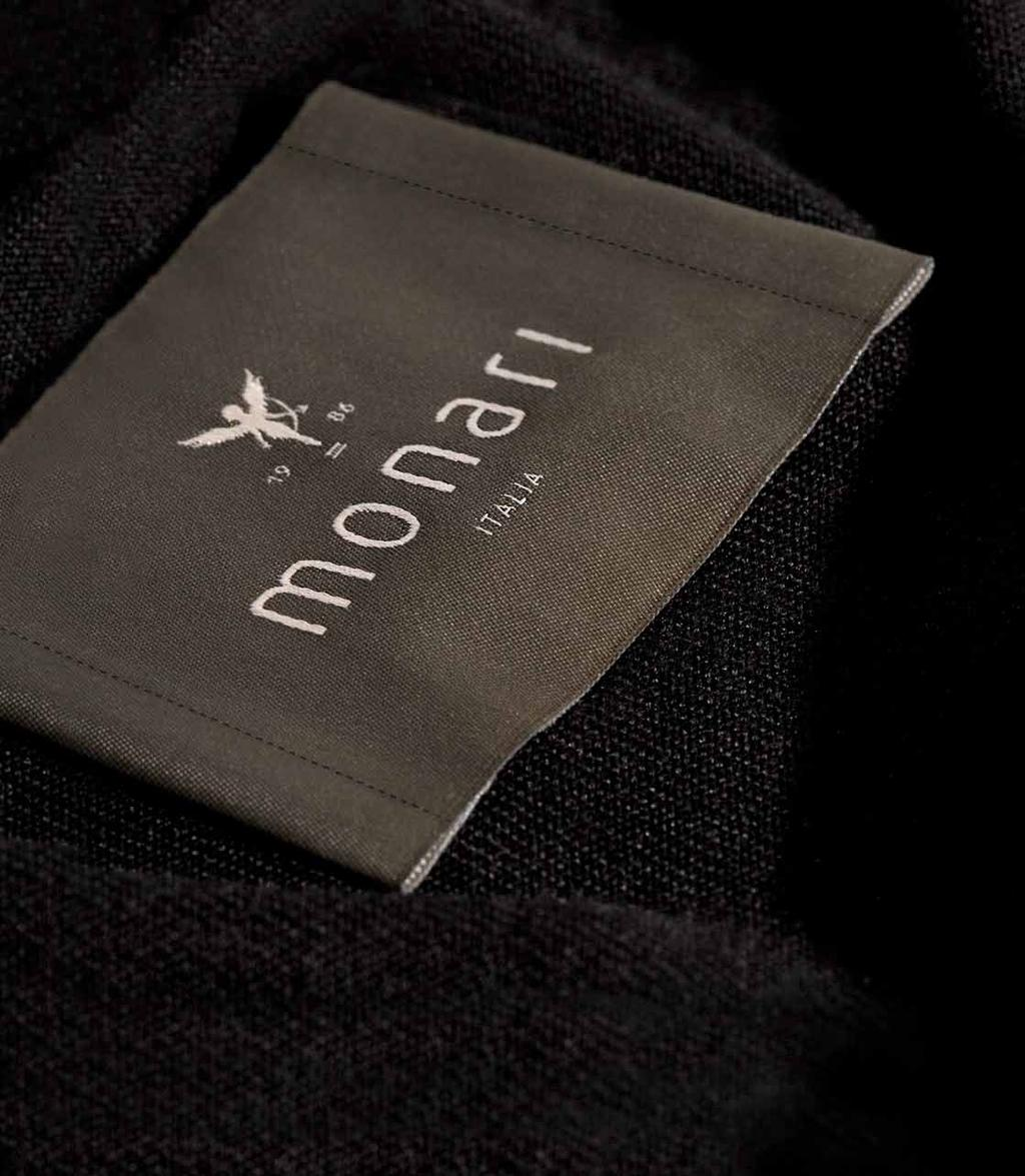 CREATED IN ITALY monari: passionate about knitwear. The attractiveness and quality of Italian knitwear has always had a magical pull on us.