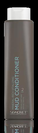 HAIR MINERAL-RICH VITALIZING MUD CONDITIONER Hair type For all hair types. Nourishing conditioner that renews softness, shine and manageability.