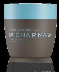 MINERAL-RICH REVIVING MUD HAIR MASK HAIR Hair type For all hair types. Revive hair s natural health and shine for a beautiful, healthylooking glow. Apply a generous amount to towel-dried hair.