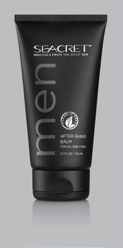 MEN AFTER-SHAVE BALM Lightweight after shave balm that helps soothe, moisturize and protect skin. Apply to face and neck after shaving, using circular motions until fully absorbed.