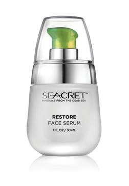 AGE-DEFYING RESTORE FACE SERUM Normal to dry skin / prematurely ageing skin. Highly concentrated nourishing serum with an ultra-smooth silky texture, to prepare the skin for moisturizing.