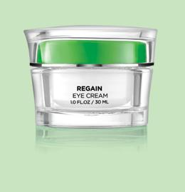 AGE-DEFYING REGAIN EYE CREAM Normal to dry skin / prematurely ageing skin. Rich eye cream with youthful protein trio complex gives a healthy beautiful look.