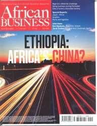 African Business: Ethopia: Africa s China? Publisher: IC Publication, UK Issue/Year: No.