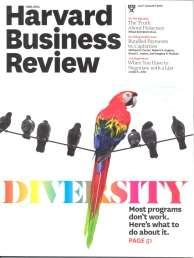 fr Harvard Business Review: Diversity Publisher: Harvard Business Review, USA Issue/Year: July-August 2016 Diveristy: Why diversity programs fail Managing People: Designing a bias-free organisation