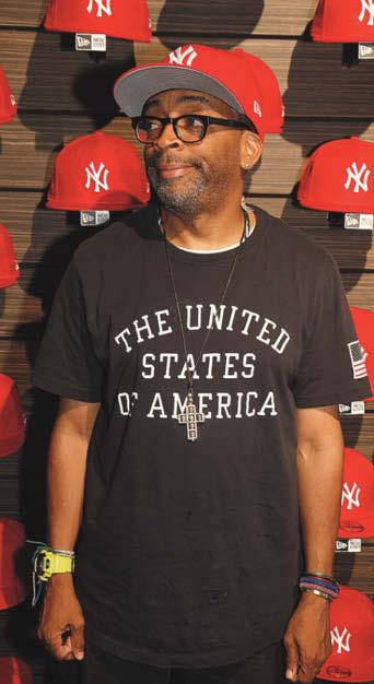 6 WWD THURSDAY, JULY 3, 2014 Spike Lee Talks New Era, Fashion By DAVID YI NEW YORK I m not going to walk in here wearing Boston s--t!