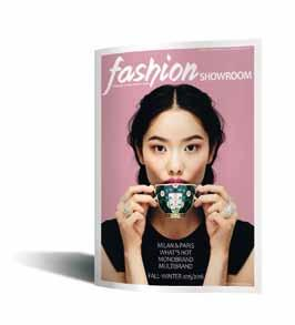 showroom In 2015 a new publication for fashion insiders: Fashion Showroom. A bilingual guide for the most important business and trend scouting companies.