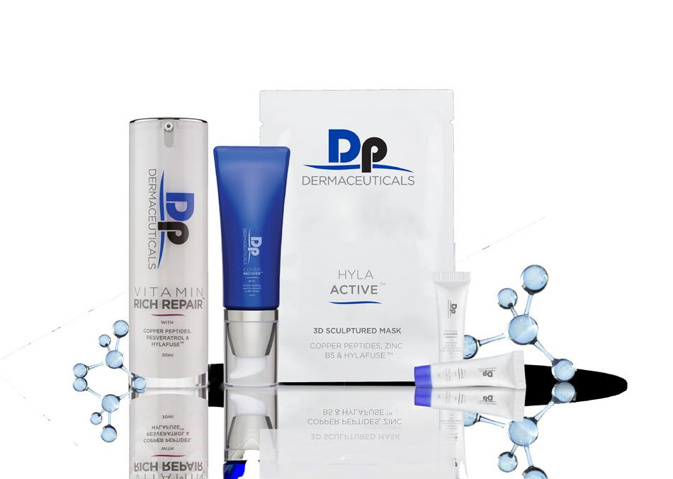 PRESENTING THE CONVENIENCE OF DP DERMACEUTICALS KITS Designed for specific skin conditions and post procedures, introducing you to the appropriate protocol products for your