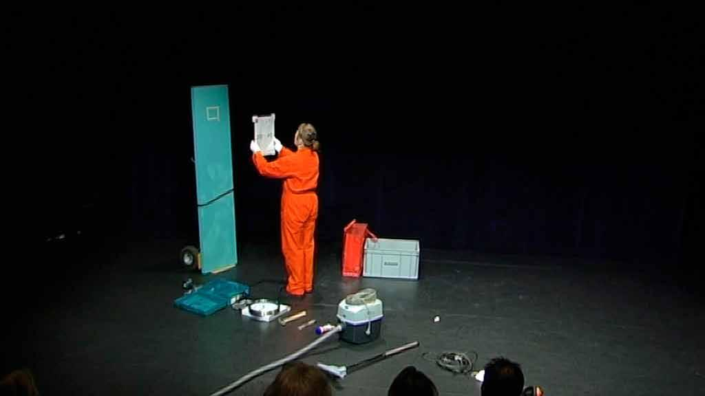 7. Reconstruction of reconstructing a whole performance, 2012 duration: 30 min.