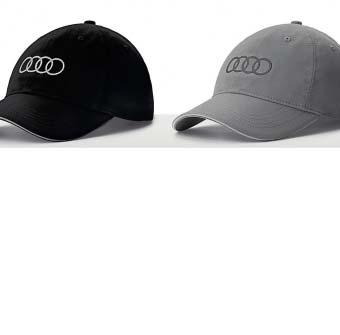 1 1 Baseball cap Cap made from 100 % cotton with Audi rings embroidered on
