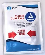 2551BN Instant cold packs, single-use Hot/cold gel packs,