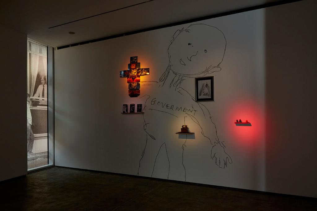 Installation view at Lost in
