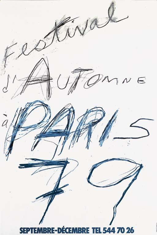 7 Cy Twombly, 1979 A Range of Venues, le Festival d Automne à The Festival has joined forces with leading arts institutions in Paris, such as the Pompidou Center, Cité de la musique- Salle Pleyel,