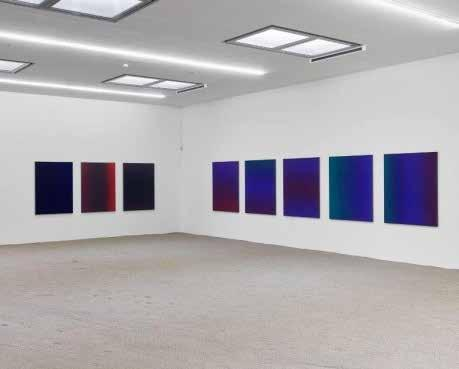 Installation view of Lak Sol at Kunstverein Heilbronn Matti Braun (1968), Berlin Lives and works in Cologne, Germany.