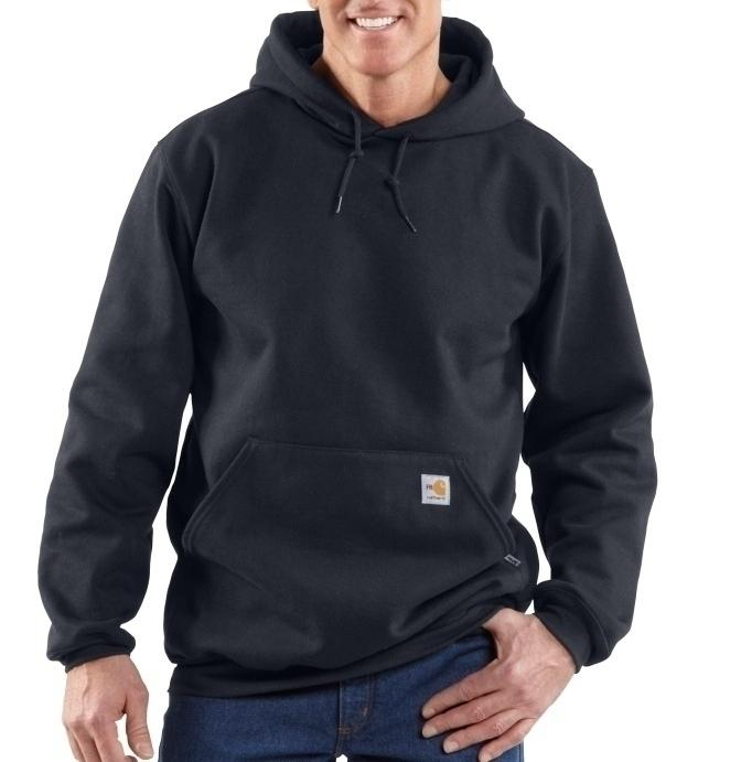Heavyweight Zip Front Sweatshirt 14.25 oz. 58% cotton/35%modacrylic/ 7%polyester blend. Attached hood with draw cord closure. 2 front hand warmer pockets. Rating 33.6 cal.