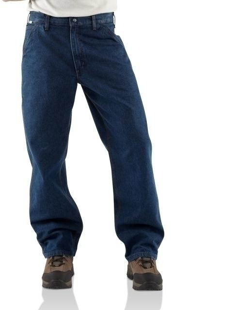 Utility Jean- Relaxed Fit 14.75 oz 100% cotton Denim 2 back pockets Rating:20.