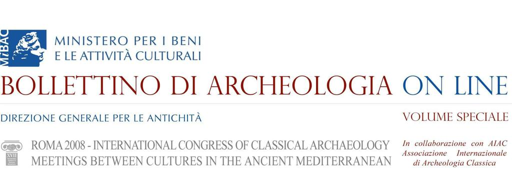 XVII International Congress of Classical Archaeology, Roma 22-26 Sept.