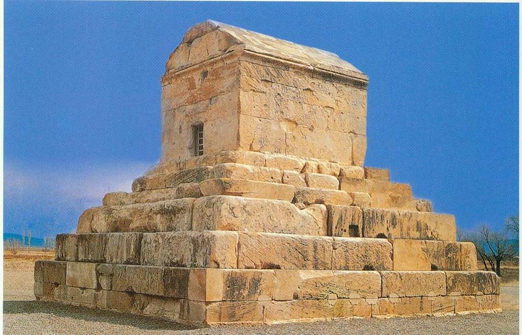 To some extent the Taş Kule monument might be a Fig. 2 The Tomb of Cyrus at Pasargadae. (DEDEOĞLU 2003, 82).