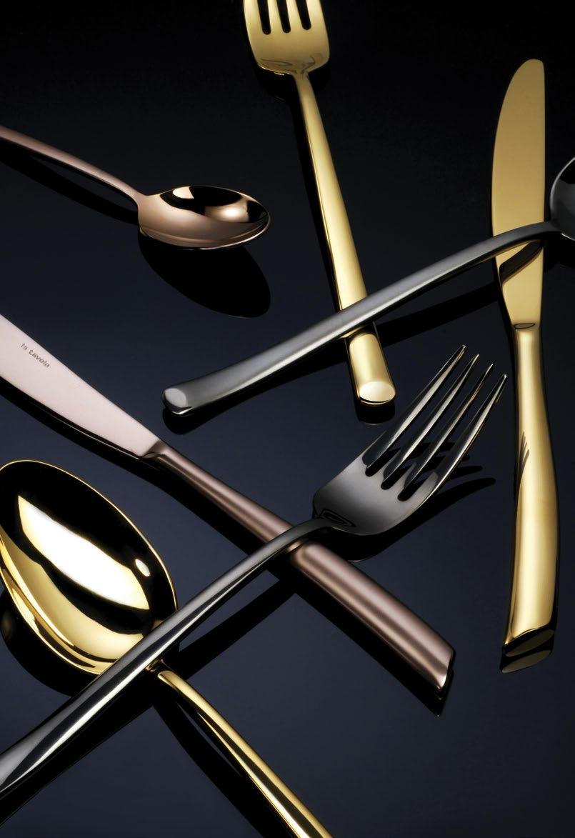 211 212 LA TAVOLA LA TAVOLA Design led and constructed of the highest quality materials, the La Tavola flatware collection embodies style and elegance on every level.