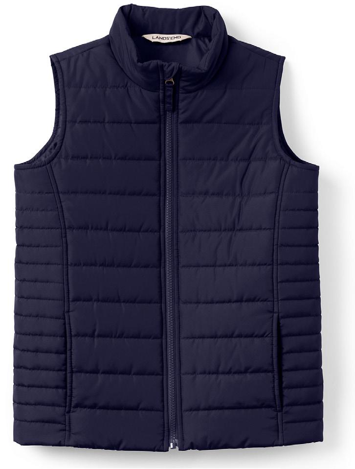 RE CO M M EN D ED / A P P RO V E D O UT E RWE A R Insulated Vest,
