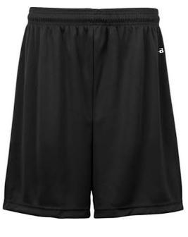 Badger Youth 6 B-Dry Core Shorts 100% polyester moisture-management performance fabric Athletic cut and