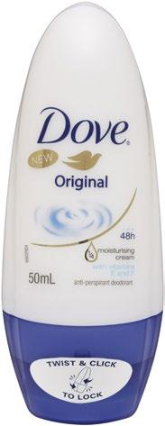 Dove Clinical Protection