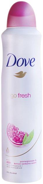 4 99 Dove  Spray 50ml Summer