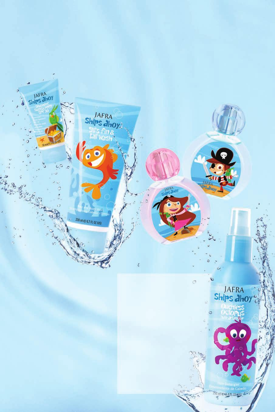 Encourage adventure Bath time just got fun and