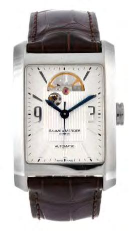 6 7 BAUME & MERCIER - a gentleman s Hampton XL chronograph bracelet watch. Numbered 4879975. Signed quartz movement.