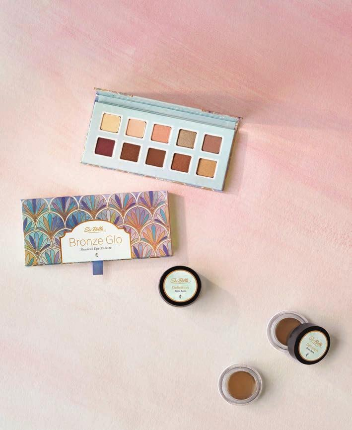 Sweeping Arches AND Sun-Kissed Style NEUTRAL EYE SHADOW PALETTE A