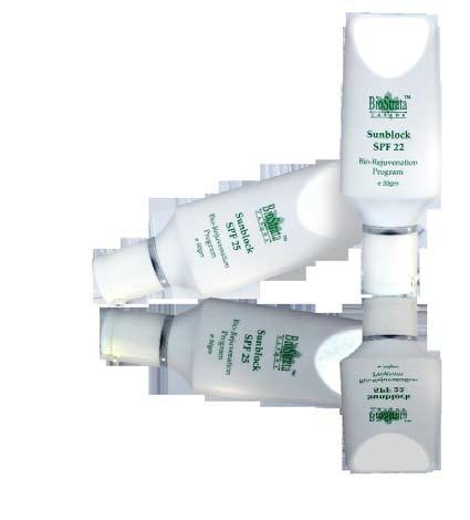 SUNSCREEN SPF 22 For oily skin 50GM SUNSCREEN SPF 25 For normal/dry skin 50GM A non-tacky white tinted sunscreen designed for oily skin. Leaves skin supple and dry.