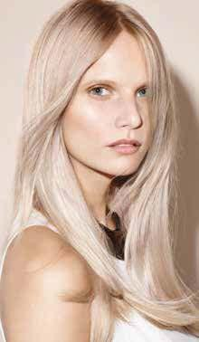 Balance your colour in situations such as: Balancing the colour of the mid-lengths and ends while doing a root colour application.