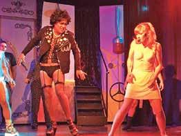 16 ROCKY HORROR SHOW A Musical Comedy Fiction Horror Stage Play On The Main Stage Tuesdays, Thursdays & Saturdays 7 p.m. Vallarta has fallen in love with THE ROCKY HORROR SHOW. Again!