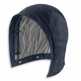 high-tenacity nylon with Wind Fighter technology that tames the wind Fullyinsulated with 200g 3M Thinsulate Platinum Insulation FR with twill face cloth Three-piece hood