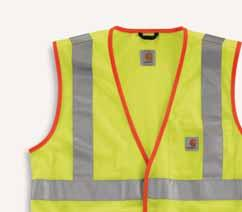 Lime 100495-824/Brite Orange REGULAR TALL Trim Detail Force High-Visibility Long-Sleeve Class 3 T-Shirt 100496 RELAXED FIT 4.