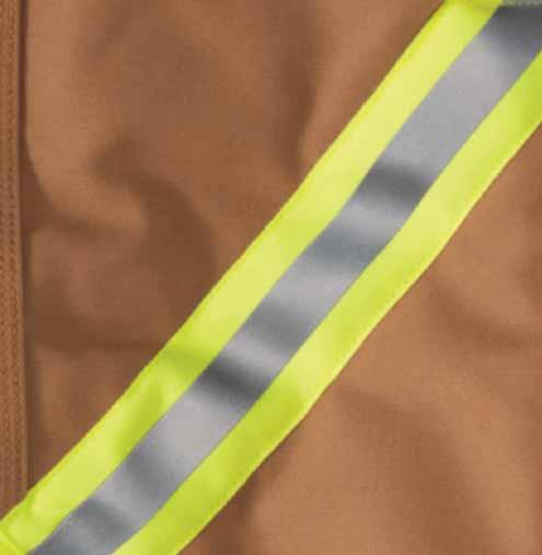 REFLECTIVE STRIPING WORKWEAR MADE BRIGHT, GETS THE JOB DONE