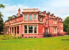 hh Lawnhurst is one of several mansions in Didsbury, built as family homes by wealthy industrialists and businessmen in the second half of the nineteenth century.