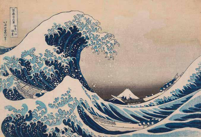 [ 81 ] Katsushika Hokusai, Under the Wave