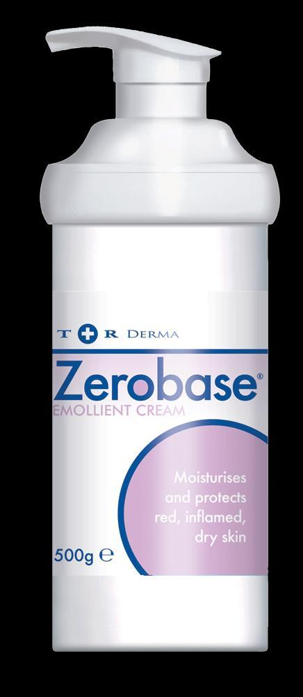 Zerobase Cream Diprobase A moisturising and protective emollient cream to relieve the symptoms of red, inflamed, damaged, dry or chapped skin.