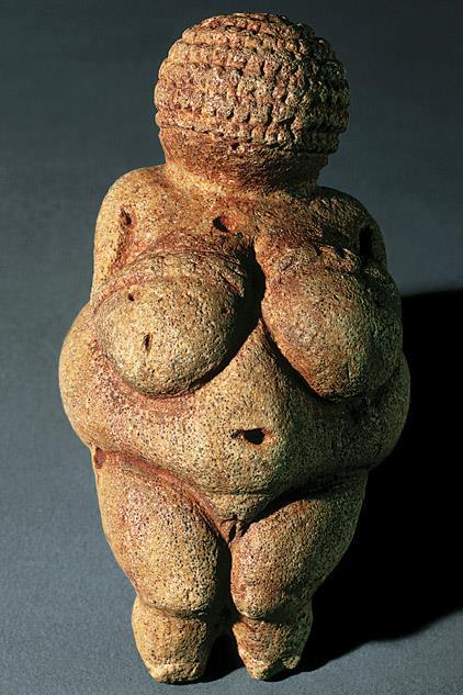Woman from Willendorf Limestone