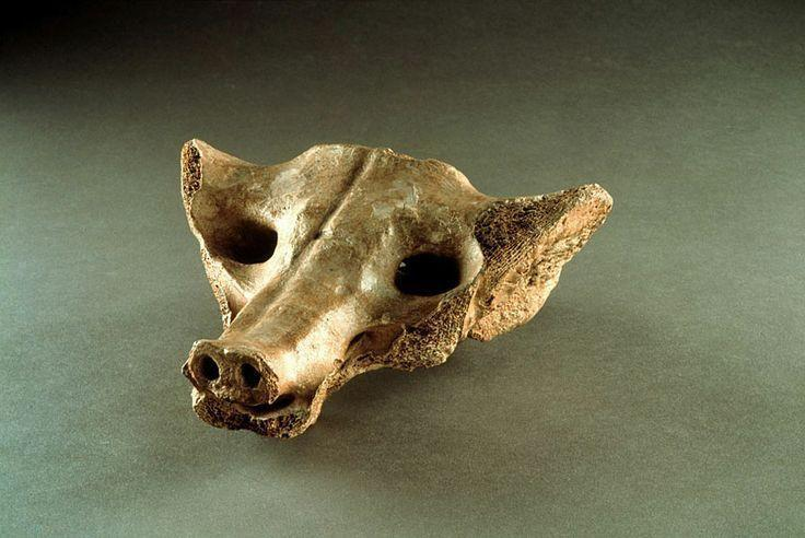 Camelid Sacrum in the shape of a canine 14,000-7000 B.