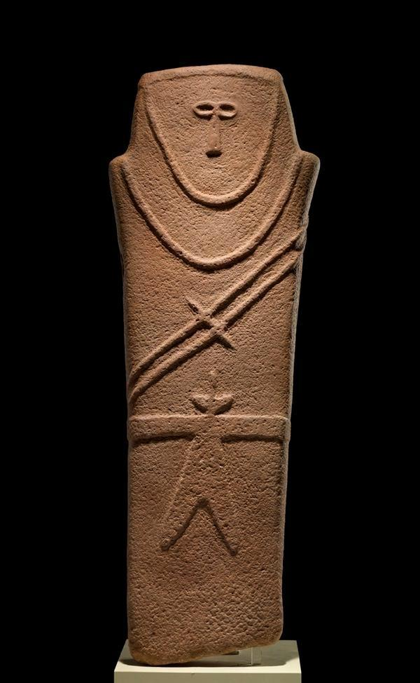 Anthropomorphic Stele Arabian