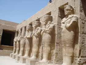 Though all eleven pharaohs named Ramesses were not from the same lineage, each one took the name to associate himself with the previous successful rulers of the same name.