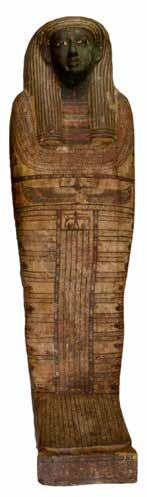 MUMMY PROFILES Djed-Hor: The mummy of Djed-Hor was acquired by donation in 1887. It can be dated to about 600 BCE, based on the style of the coffin and radiocarbon tests on the linen.