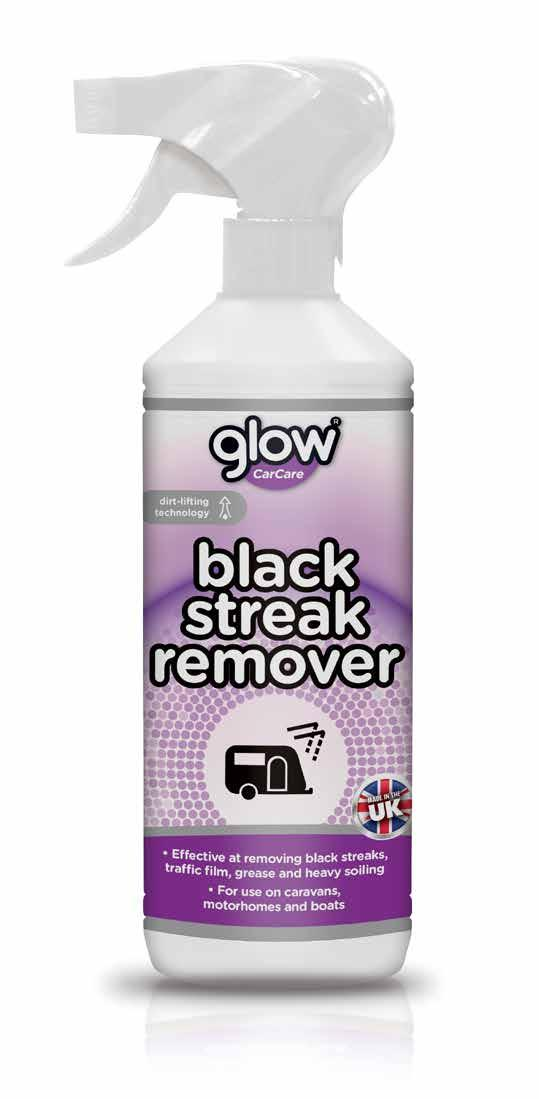black streak remover case 7kg 1368 units per pallet Effective at removing black streaks, traffic film, grease and
