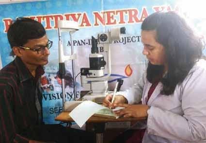 News Bytes GJSCI CONDUCTS FREE EYE CHECK-UP CAMP FOR ARTISANS IN SEEPZ Gems & Jewellery Skill Council of India (GJSCI) conducted a two-day, free eye check-up camp at the SEEPZ, Andheri (E), Mumbai,