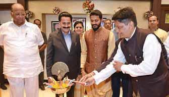 Also known as the Most Trusted Jeweller of Maharashtra, due to the trust and customer faith earned since 1827, the grand showroom was inaugurated by the hands of former Defense & Agriculture
