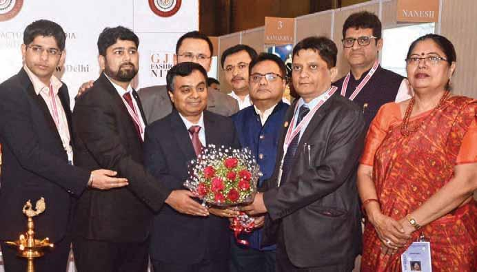 Initiatives MEMORABLE PREFERRED MANUFACTURERS OF INDIA DELHI MEET The All India Gems and Jewellery Trade Federation (GJF) organised the 6th show